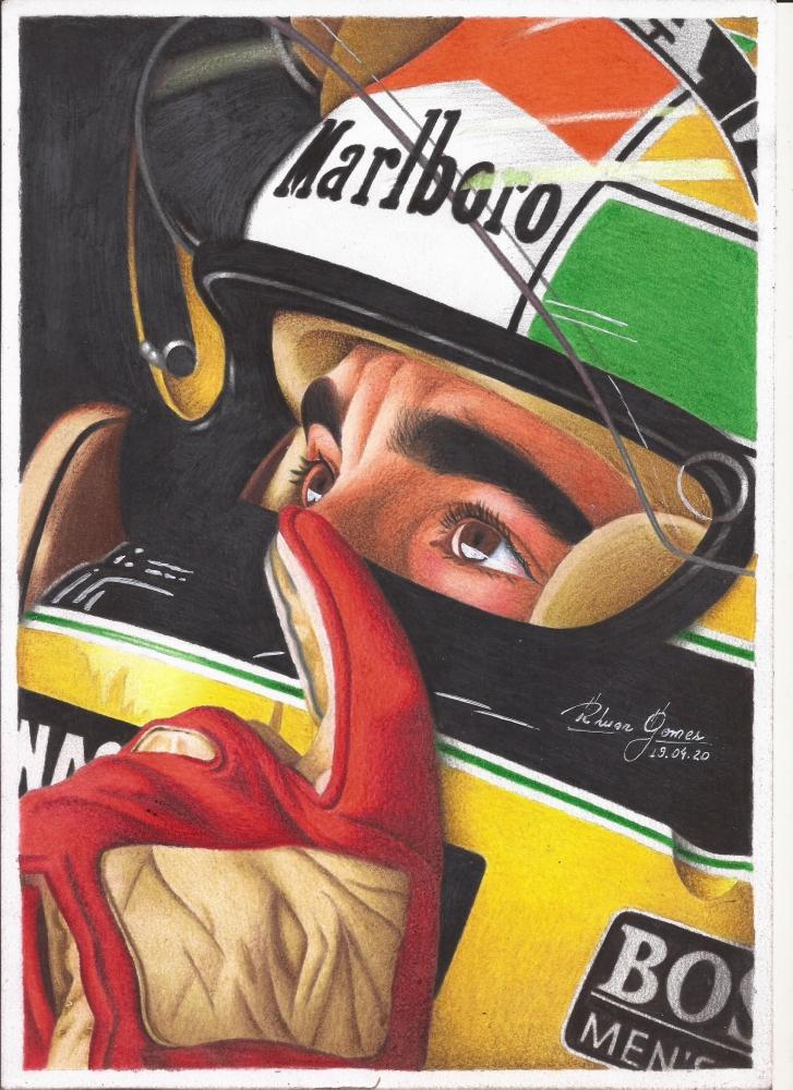 Ayrton Senna por RhuanG